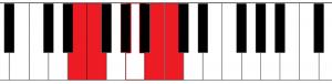 semitone interval 3