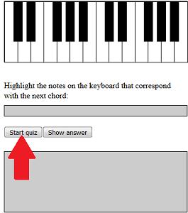 Start chord quiz