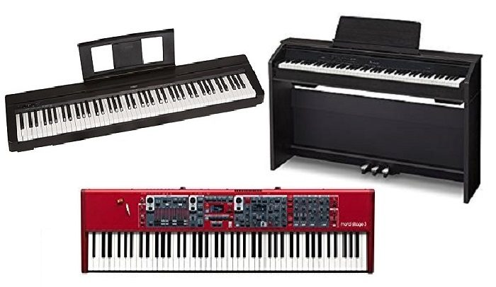 How to choose piano keyboard