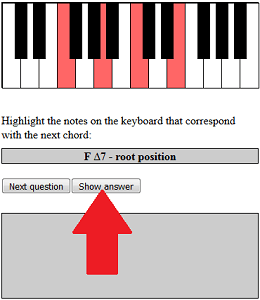 show chord answer