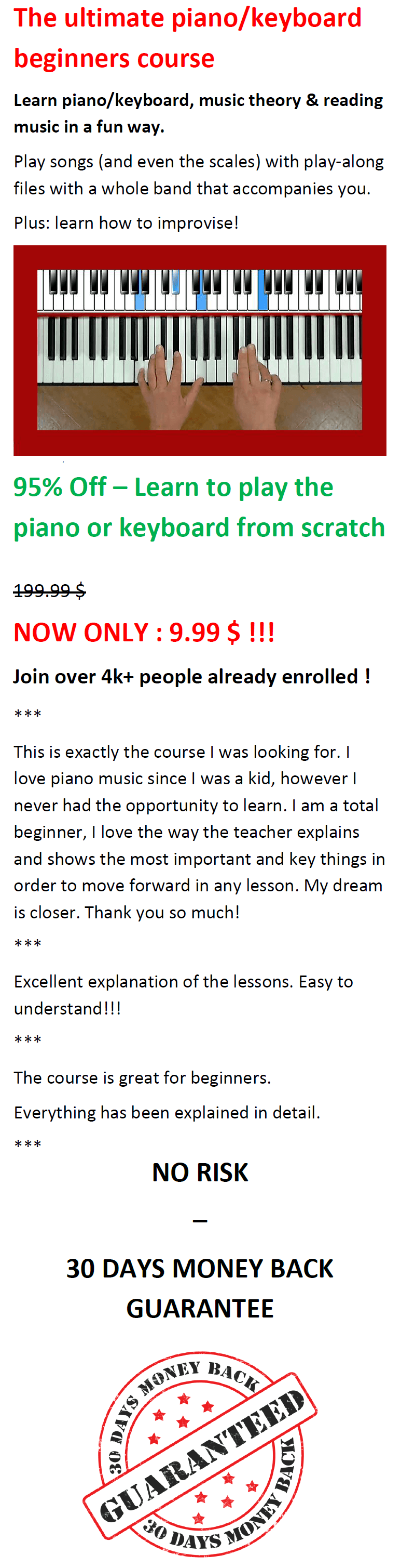 Learn piano or keyboard from scratch-2